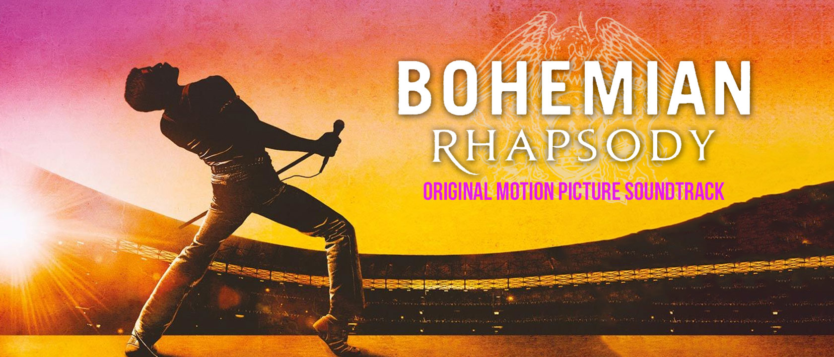 Bohemian Rhapsody Original Motion Picture Soundtrack banner